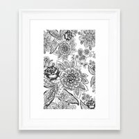 batik Framed Art Prints featuring Batik by Tisha Haryanto