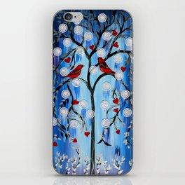 Cardinals, Oh the Joy! iPhone Skin