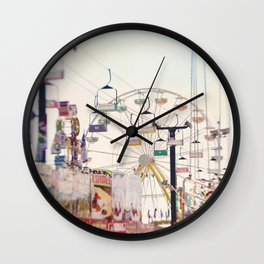 Fair Midway 2 Wall Clock