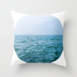 Nautical Porthole Study No.3 Throw Pillow
