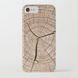 Tree trunk iPhone Case