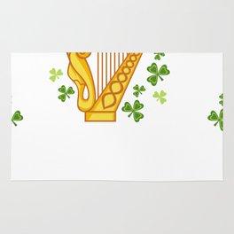 Irish Harp Rug