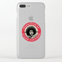 I'm with Kap Clear iPhone Case