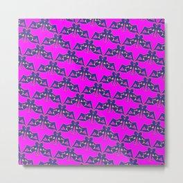 Babes Pattern Metal Print