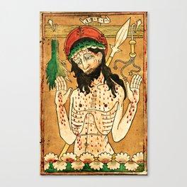 Man of Sorrows Canvas Print