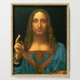 "Leonardo da Vinci ""Salvator Mundi"" Serving Tray"
