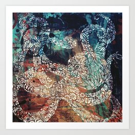 What's Kraken? Art Print