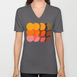 Sunset Discs Unisex V-Neck