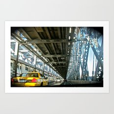Washington Bridge, NYC Art Print