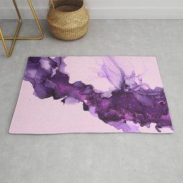 purple hazy Rug