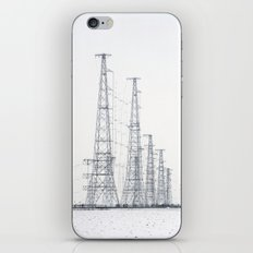 towers and wires iPhone & iPod Skin