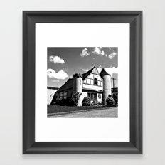 Urban Castle Framed Art Print