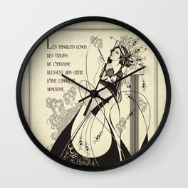 Autumn Song Wall Clock