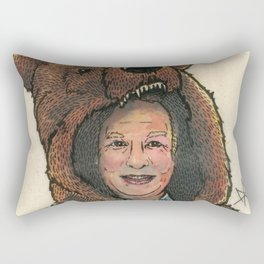 Bear Suit Marc Rectangular Pillow
