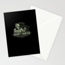 Galactic Bounty Hunter Stationery Cards