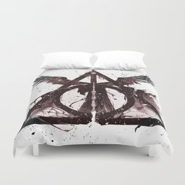 Deathly Hallows Duvet Cover