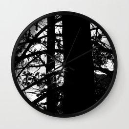 Coming Through Wall Clock