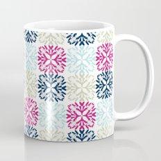 Floral Geometric - Navy & Pink Mug