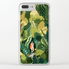 FOREST SPIRIT Clear iPhone Case