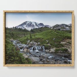 Edith Creek and Mount Rainier Serving Tray