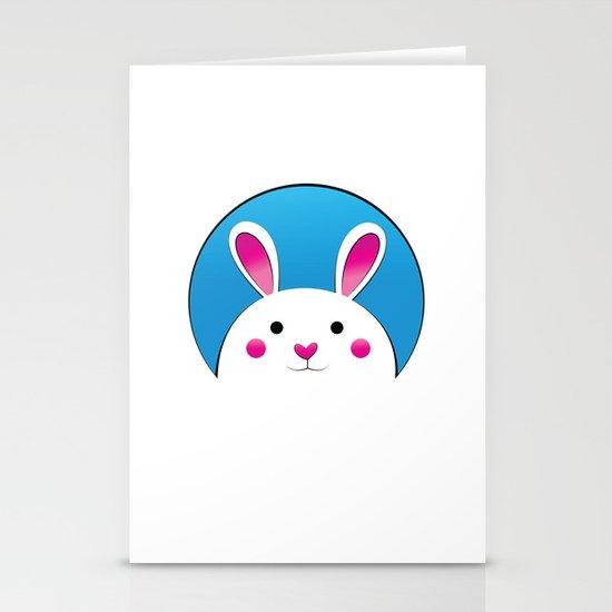 Chubby Bunny Stationery Cards