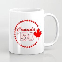 Canada 150th Birthday Design Coffee Mug