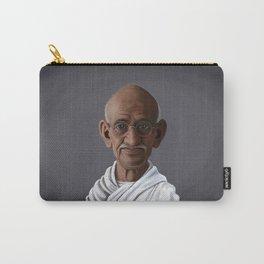 Celebrity Sunday ~ Mahatma Gandhi Carry-All Pouch