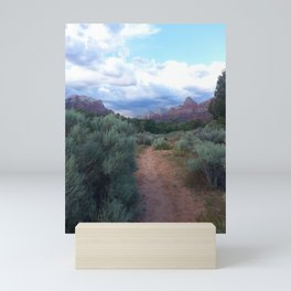 Desert path Mini Art Print