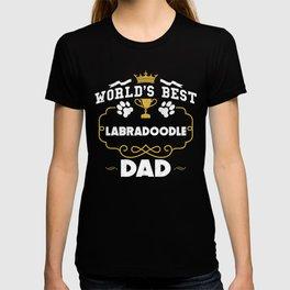 World's Best Labradoodle Dad T-shirt