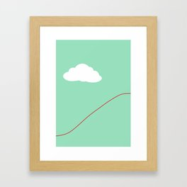 Paper Airplane - You Can Fly - Graphic - Julep (3 of 3) Framed Art Print