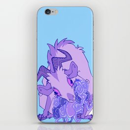 Gut Wretched Goat - Purple iPhone Skin