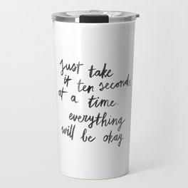 Ten Seconds At A Time Travel Mug