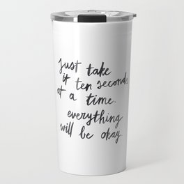 Ten Seconds At A Time Travel Mug