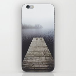 Fading into the mist iPhone Skin