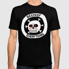 DESTROY EVERYTHING MEDIUM Black Mens Fitted Tee