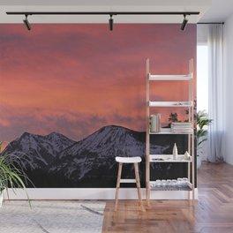 Soda Butte Sunrise Wall Mural