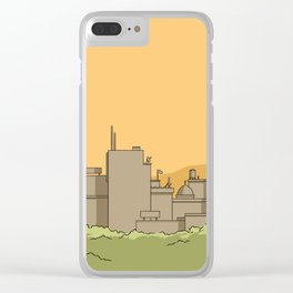 City #1 Clear iPhone Case
