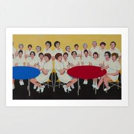 """Durrett High School Cafeteria Staff, Louisville, KY, 1979"" Art Print"