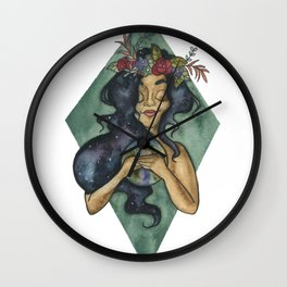 In A World Of Pure Imagination Wall Clock