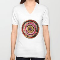 portal V-neck T-shirts featuring Portal  by Emily Kenney