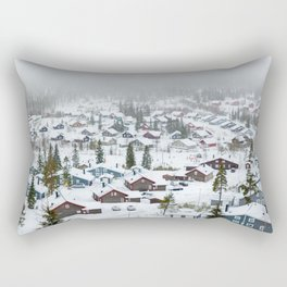 Swedish village #society6 #decor #buyart Rectangular Pillow