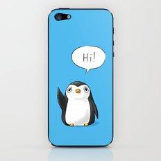 Hi Penguin iPhone & iPod Skin