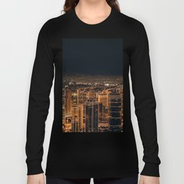 Somewhere in China – City by night Long Sleeve T-shirt