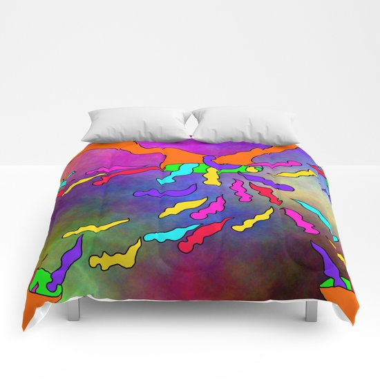 Abstract 33 Comforters