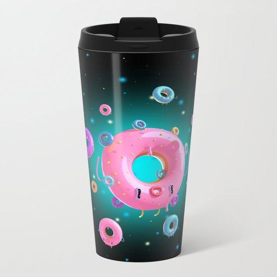 Mama Donut Metal Travel Mug
