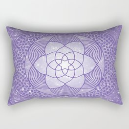 The Third Eye Chakra Rectangular Pillow