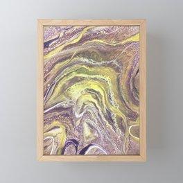 Geode Framed Mini Art Print
