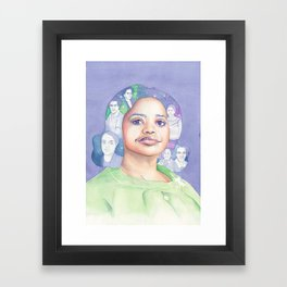 Dorothy Vaughn Hidden Figures Framed Art Print