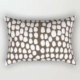 Friends come in different shapes. Rectangular Pillow