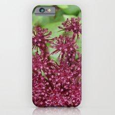 Purple flower Slim Case iPhone 6s